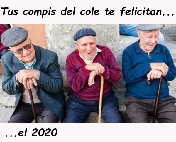 Ancianos feliz 2020