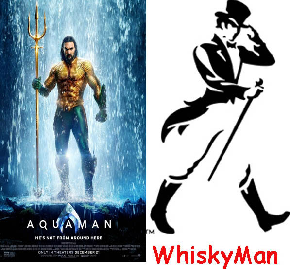 Aquaman vs WhiskyMan