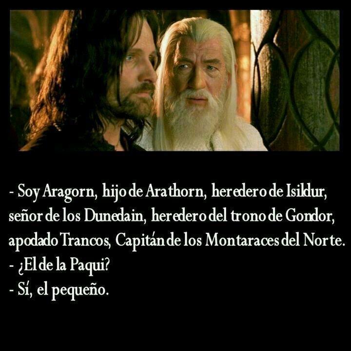 Aragorn el hijo de la Paqui