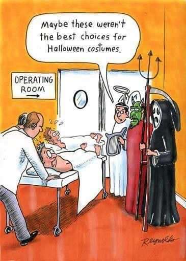 Halloween in Hospital