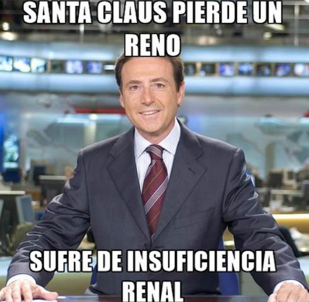 Santa Claus pierde un reno