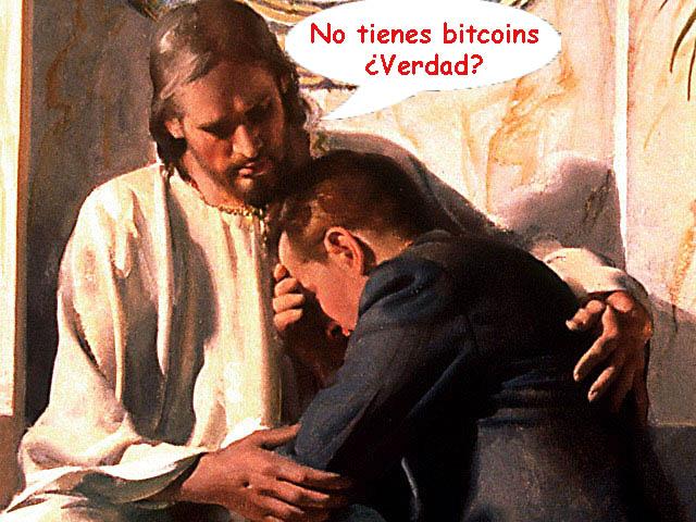 No tienes bitcoins