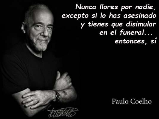 Paulo Coelho nunca llores