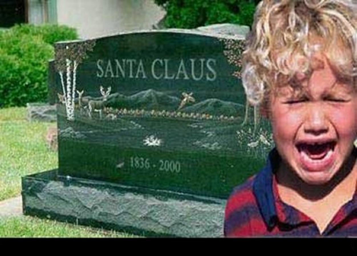 Papa Noel muerto