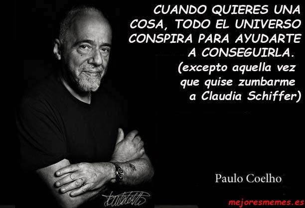 Paulo Coelho el universo conspira