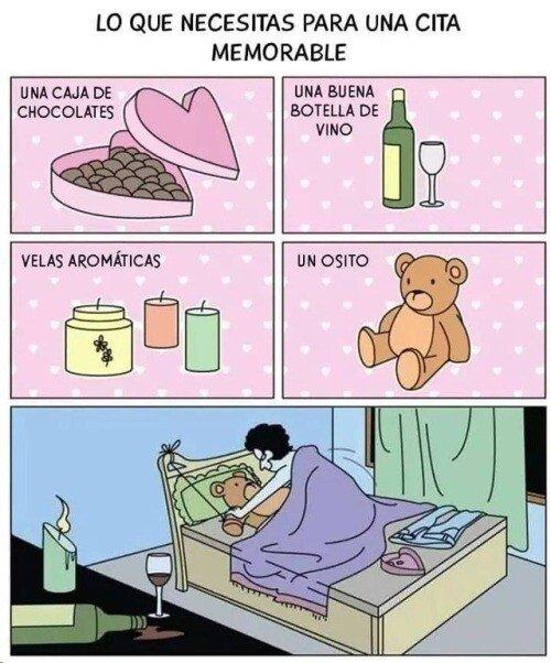 Lo que necesitas para una cita memorable