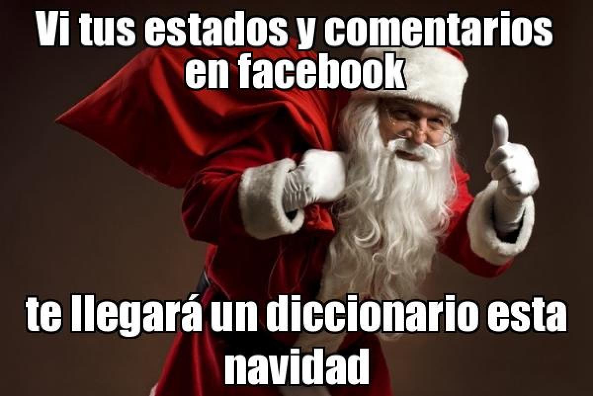 Vi tus comentarios Papa Noel