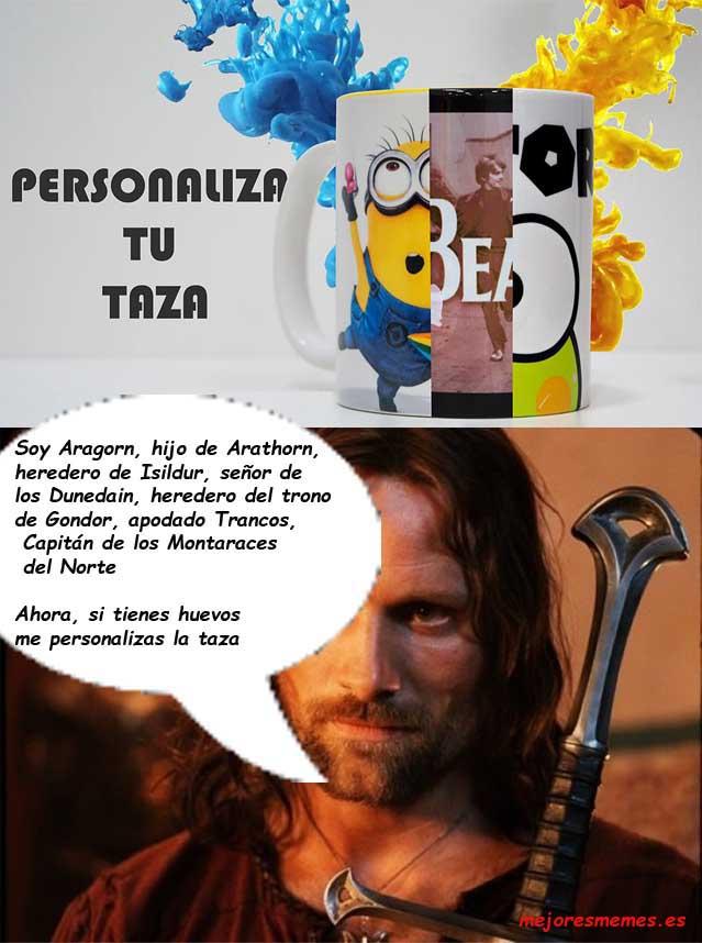 Aragorn taza