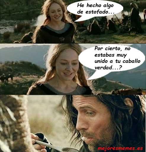 Caballo Aragorn estofado