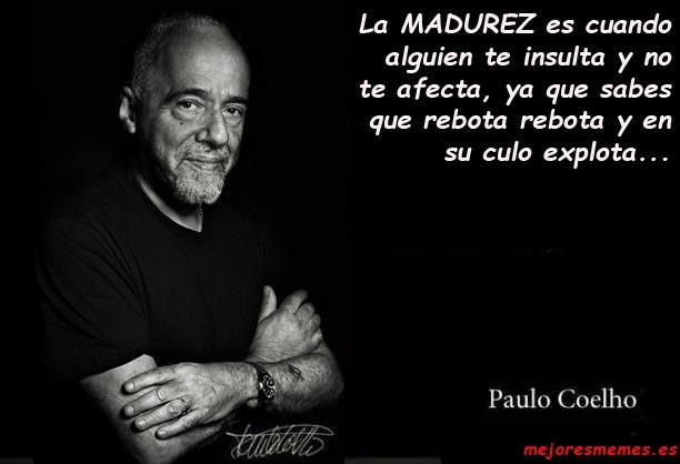 Paulo Coelho la madurez