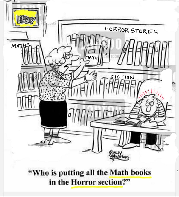 who is putting all the maths books