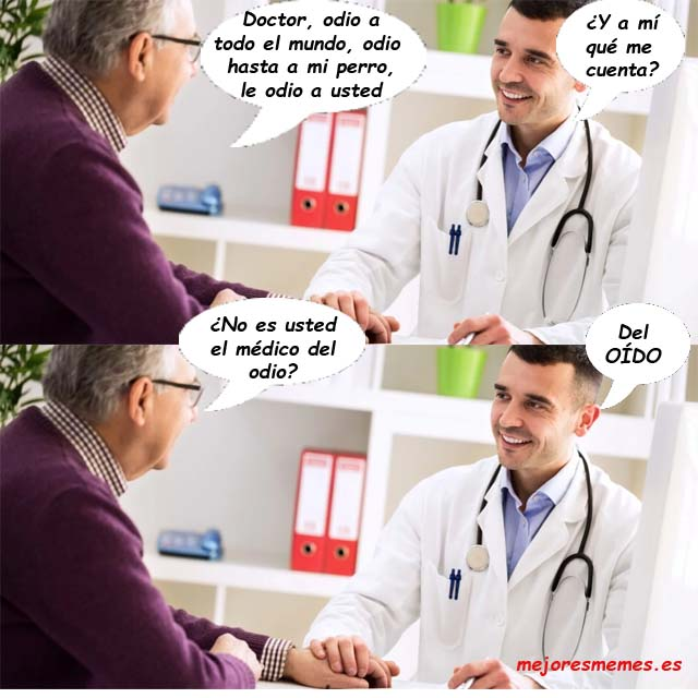 Médico del odio