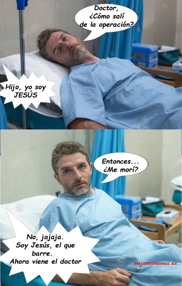 Doctor cómo salí de la operación